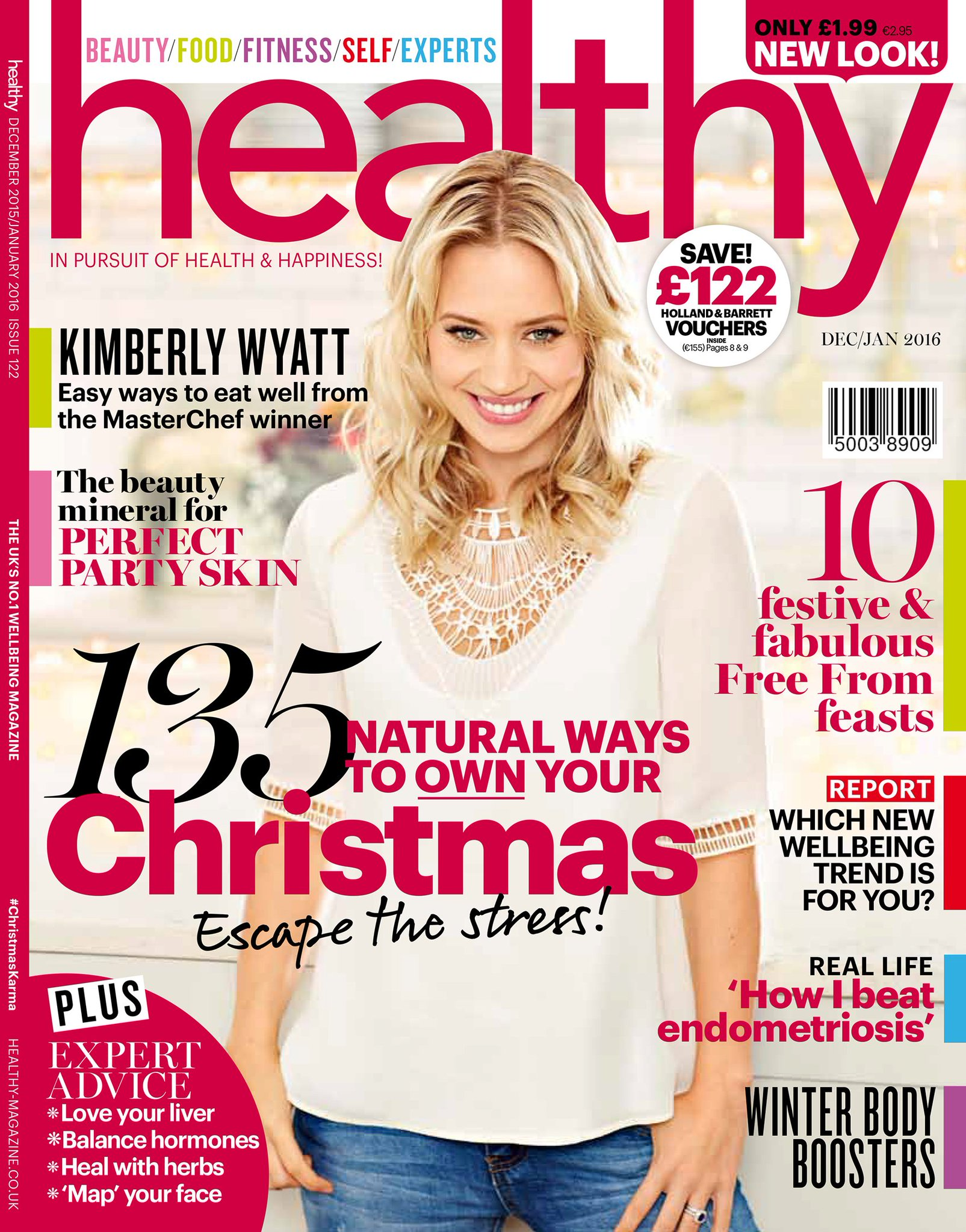 RT @holland_barrett: Pssst... the new look @healthymag featuring @KimberlyKWyatt and a new look of her own is in store from today :) https:…