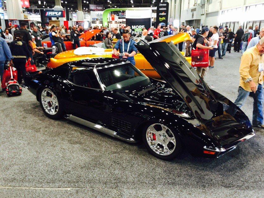 Corvetteblogger On Twitter Custom C3 Corvette Stingray At Sema