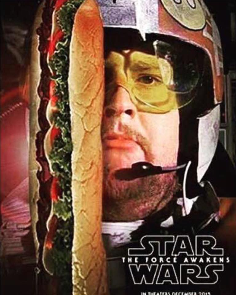 This movie is going to be AWESOME!!! #StarWars #TheForceAwakens #Porkins https://t.co/NkPf27EtYX