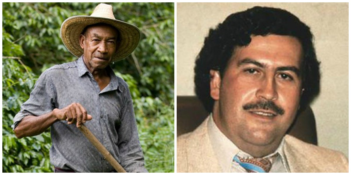 Colombian farmer finds $600 million of Pablo Escobar's buried drug money https://t.co/g3MIAhnQEq