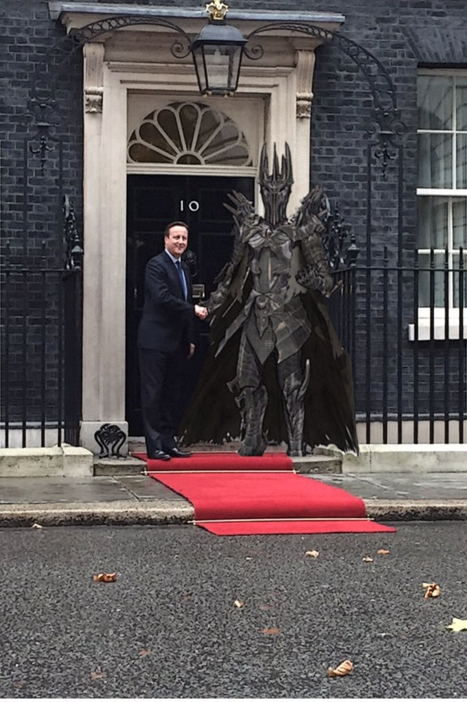 After Saudi Arabia, China and Egypt, Cameron goes for broke with trade deal and state visit from Mordor. https://t.co/Umzmgfh8ct