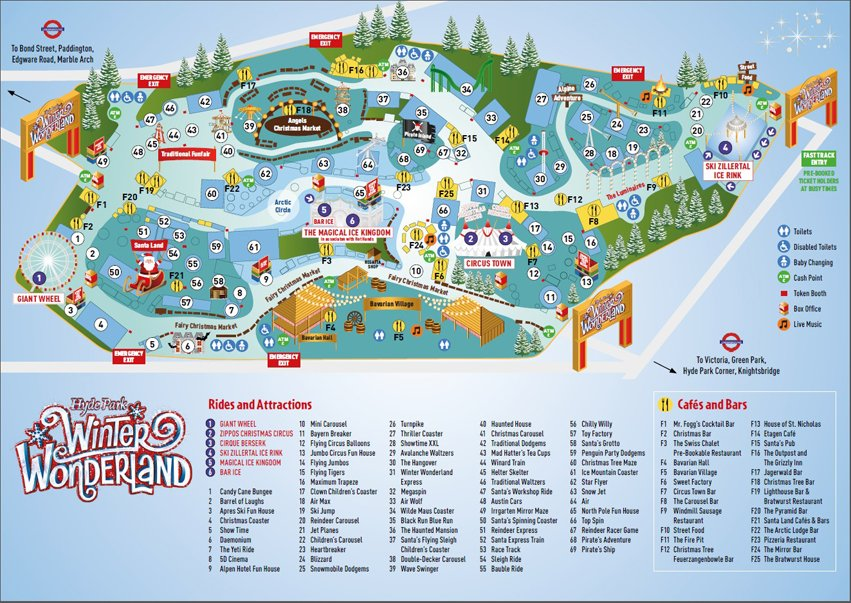 Hyde Park Winter Wonderland Map Winter Wonderland on Twitter: