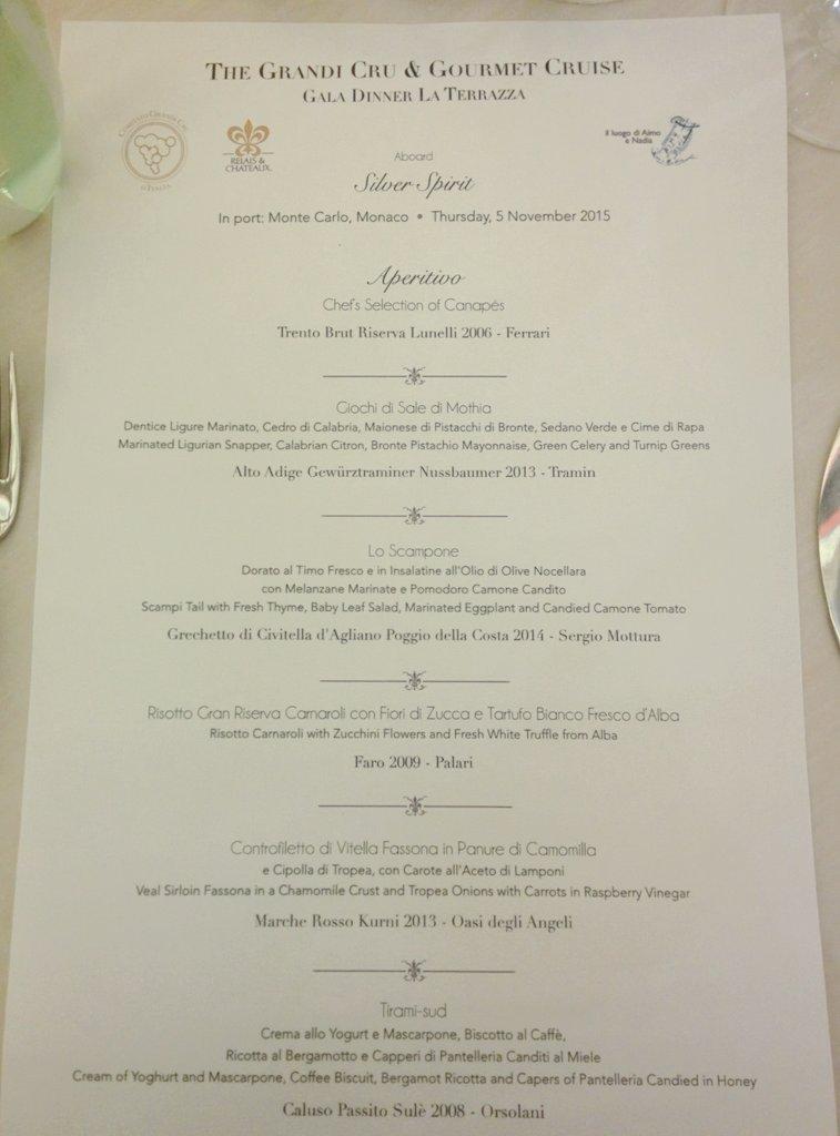 Leyla Kazim On Twitter With Guest Chef Fabio Pisani From