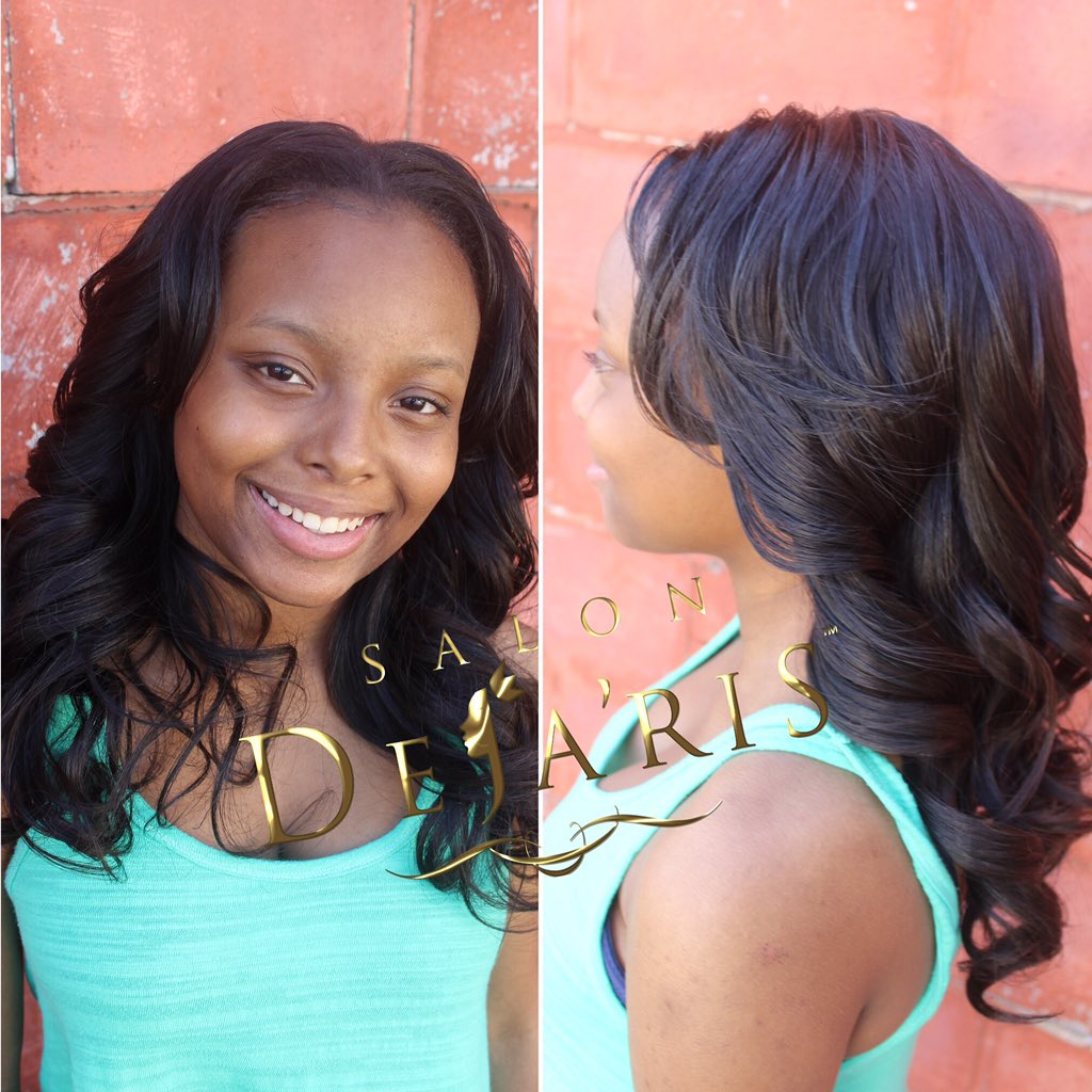 Djay Tha Don On Twitter Full Natural Sew In 2 Bundles Installed