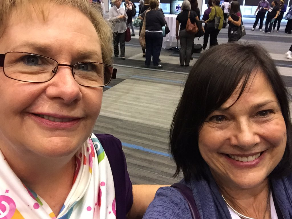 Here's another #MSLA member alert: @mslalowe , #aasl15 co-conference chair, and me ❗️ https://t.co/WaGpxhWwwQ