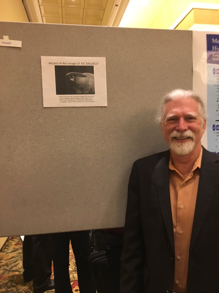 There were 2 posters at the #K2SciCon this week on #KIC8462852. https://t.co/wT1xTmpWPp