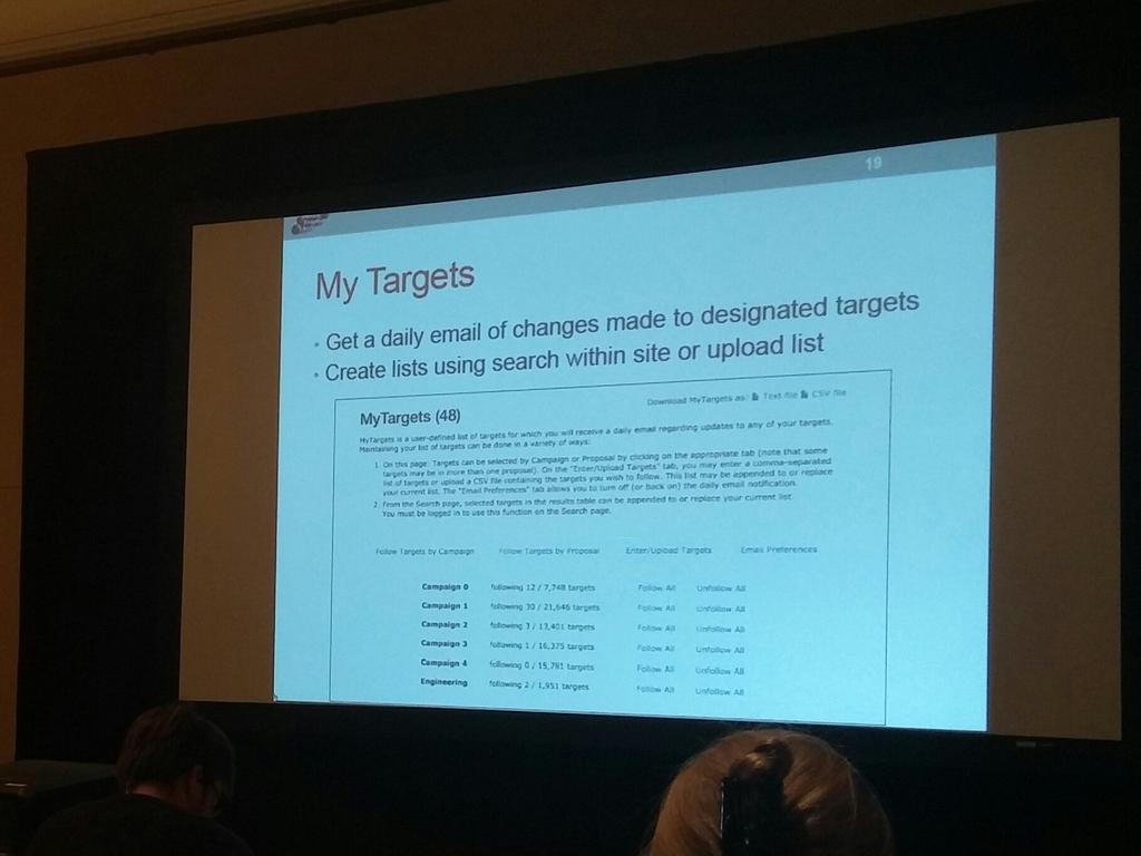 ExoFOP can alert you of activity related to targets you care about. Enables community to self-organize. #K2SciCon https://t.co/WTF7nYySju