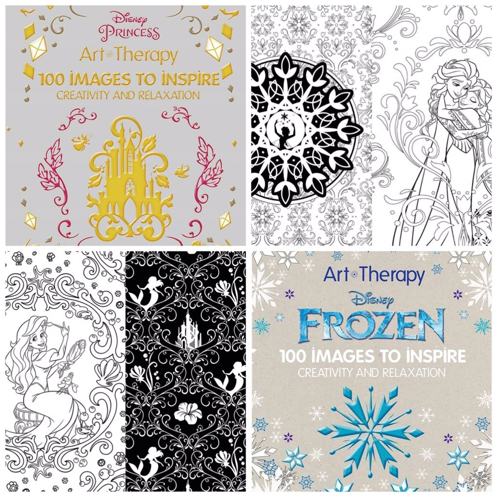 Inside The Magic On Twitter Enjoy Some Art Therapy With Disney