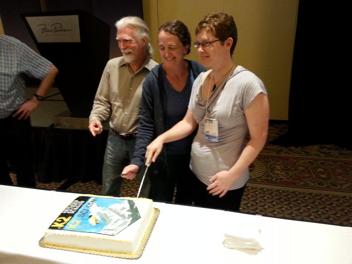 Steve, Ellen and Rachel wrap it up at #K2SciCon https://t.co/1bDo2MD8yw