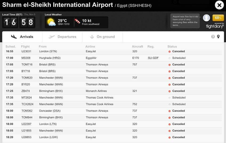سقوط طائرة ركاب روسية بوسط سيناء CTFY7e6WsAElyRC