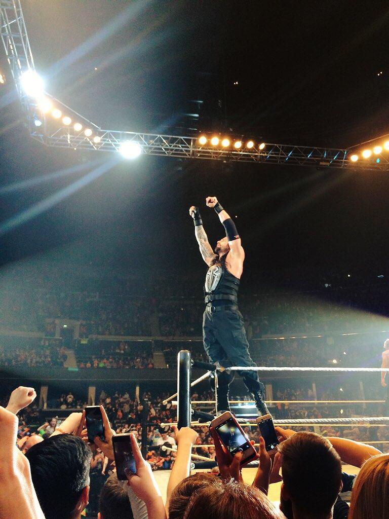 Best part of the night seeing @WWERomanReigns - believe that!! #WWEGlasgow https://t.co/lqYEkmcSVi