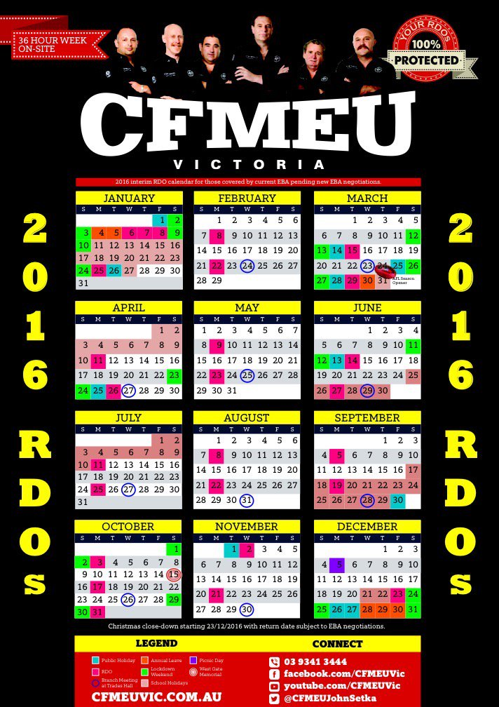 John Setka On Twitter 2016 Cfmeu Onsite Calendar Is Out Now