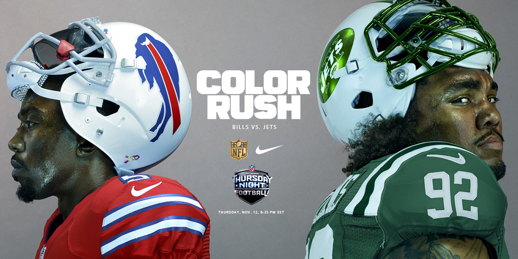 timeless design 423d9 5fbf6 Introducing Nike Color Rush Thursday : Introducing Nike NFL ...