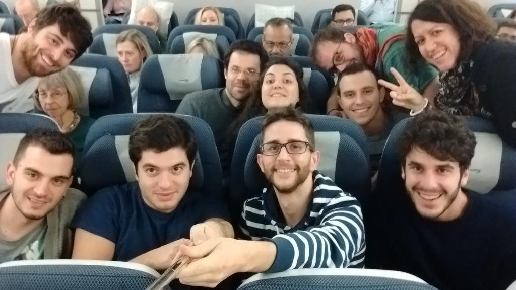 """""""@GnnCvl: Departing for a great adventure! #SiliconValley #TVLPx #AsterInUSA https://t.co/Z7ukM9iJRS"""" Atterratiii! Ready to disrupt!"""