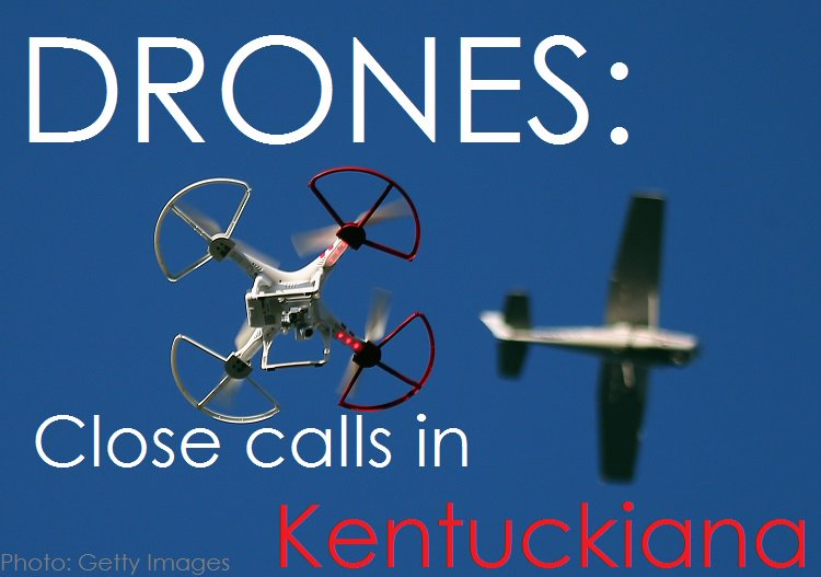 #DRONES: @WHAS11DRose looks at close calls w/ drones and aircraft in #Kentuckiana at 11 --> https://t.co/MrsOStPhFr