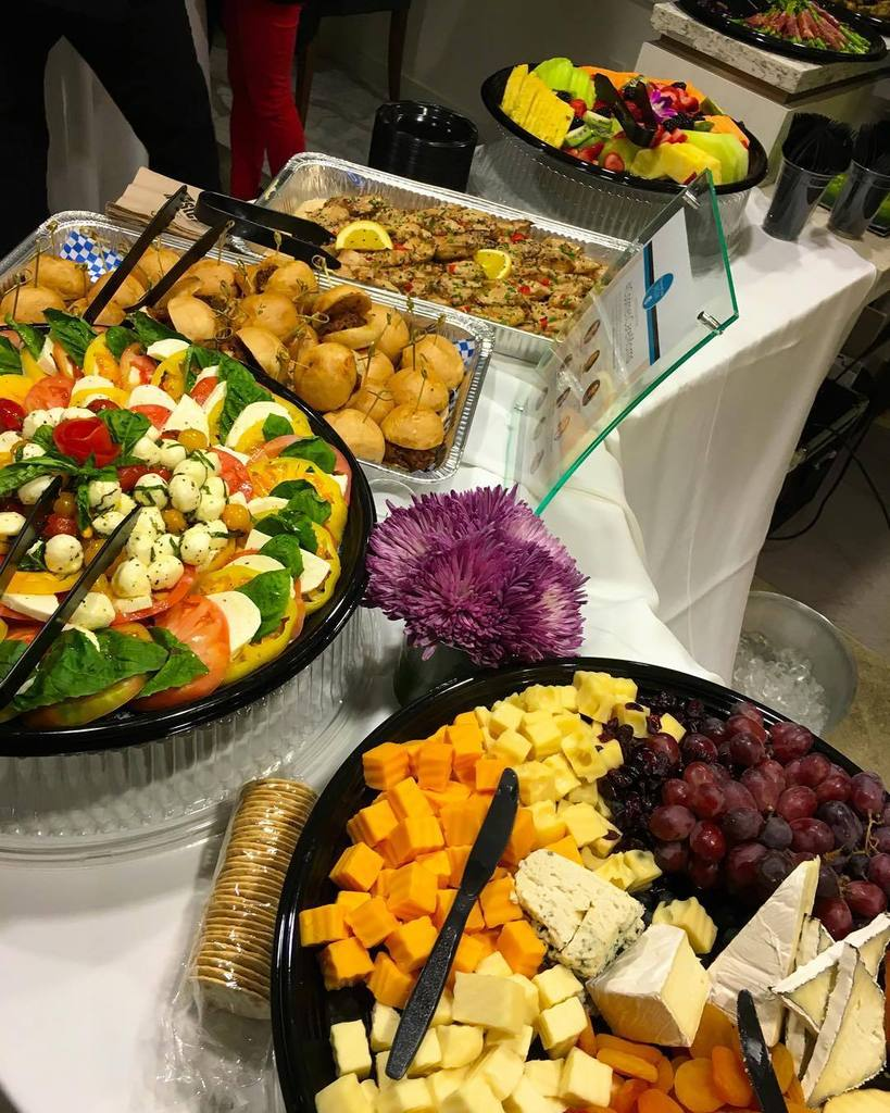 Here at the #cosmeticaremoms open house event. Check out this fun spread by Taste Catering. https://t.co/sHqlM3oPQu https://t.co/XPT3XF1Xjj