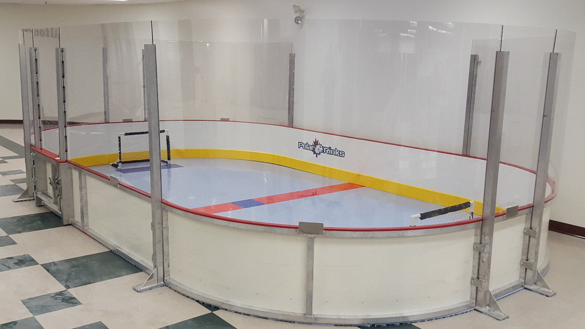 Chad Martens On Twitter Quot Just Installed Mini Stick Rink