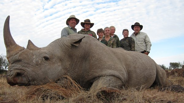 And Michigan tycoon Chris D. Peyerk reportedly paid $400,000 to kill a rhino he intended to take home.