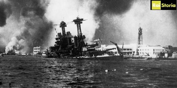 #PearlHarbor  Stasera a '1939-1945 La #SecondaGuerraMondiale' Alle 21:30 su @RaiStoria https://t.co/0NQknOjaE8