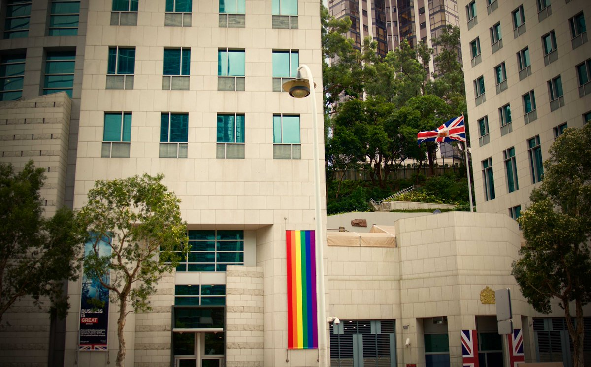 Uk In Hong Kong On Twitter The British Consulate Supports