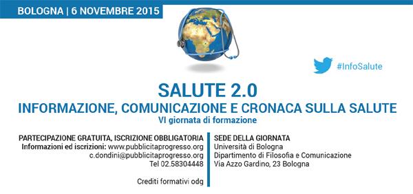 Iniziano i lavori Salute 2.0 - Info e programma: https://t.co/QGjZBHPfm4 . #livetweet #InfoSalute  #Bologna https://t.co/BZhhh1rfIl