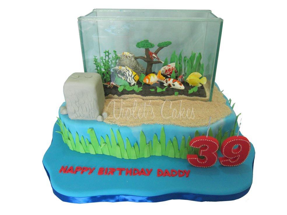 Superb Aquariumcake Hashtag On Twitter Funny Birthday Cards Online Necthendildamsfinfo