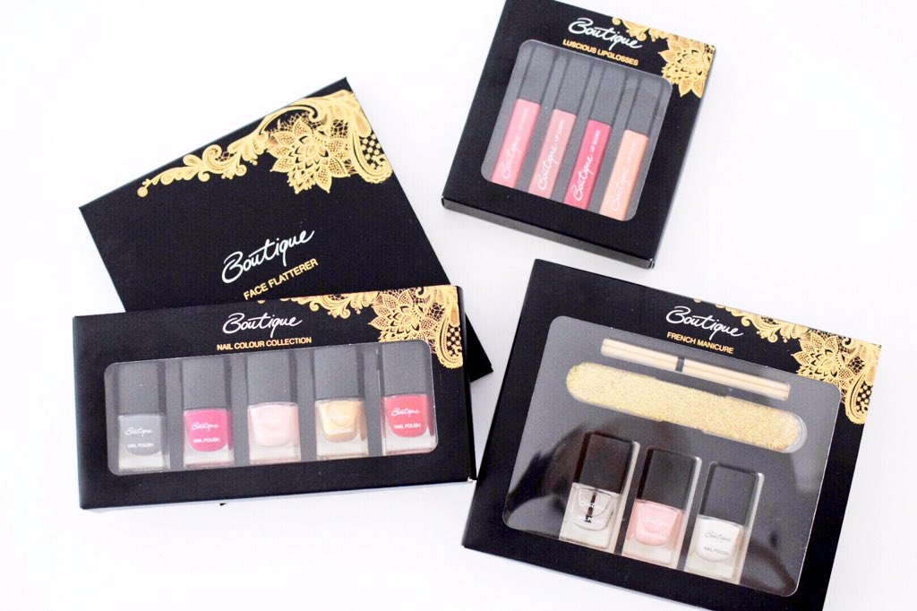 Fancy winning these @Sainsburys Boutique beauty gift sets? Just RT & follow