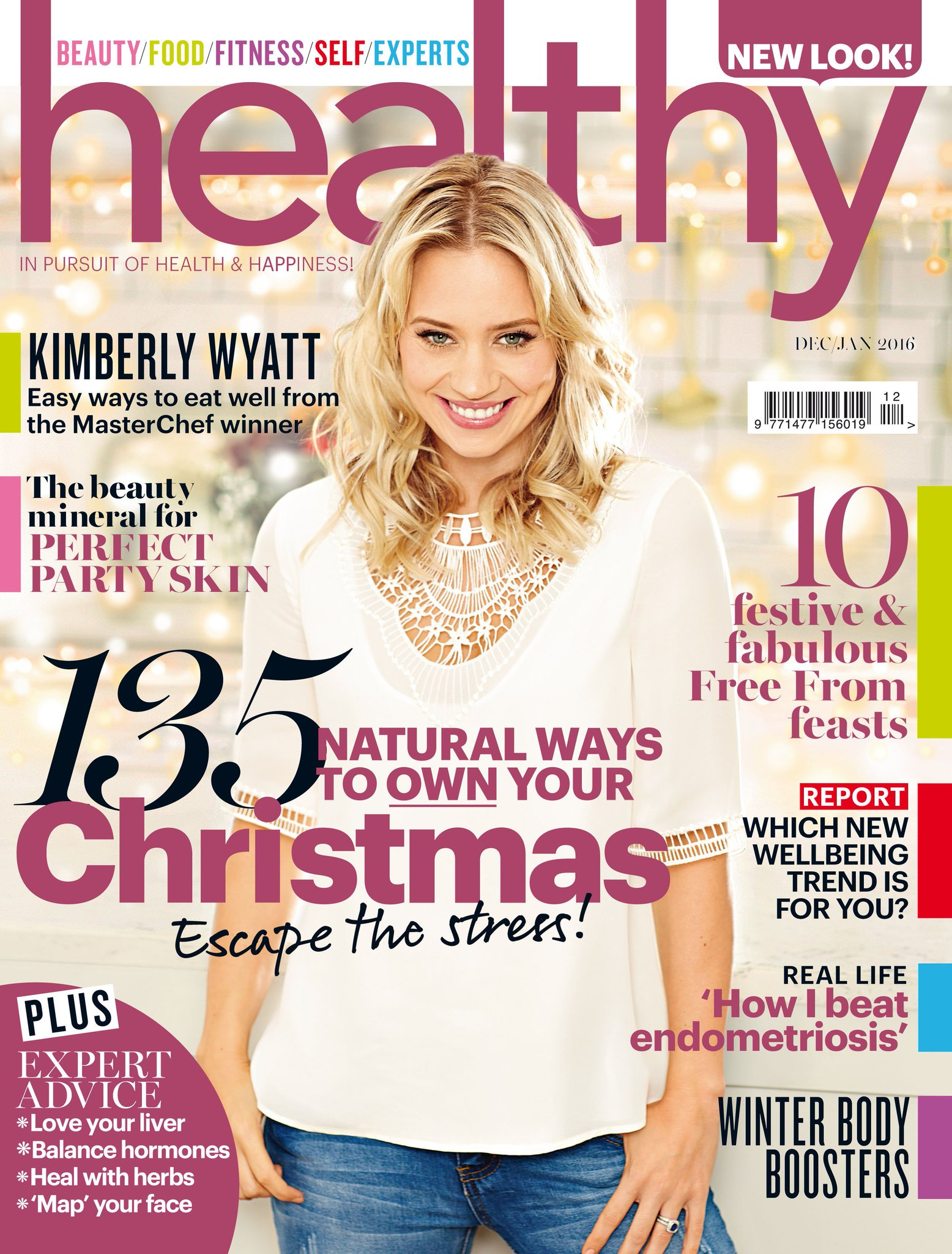 RT @healthymag: The new look Healthy's out tomorrow in @Holland_Barrett! Fronted by healthy foodie @KimberlyKWyatt #Christmaskarma https://…