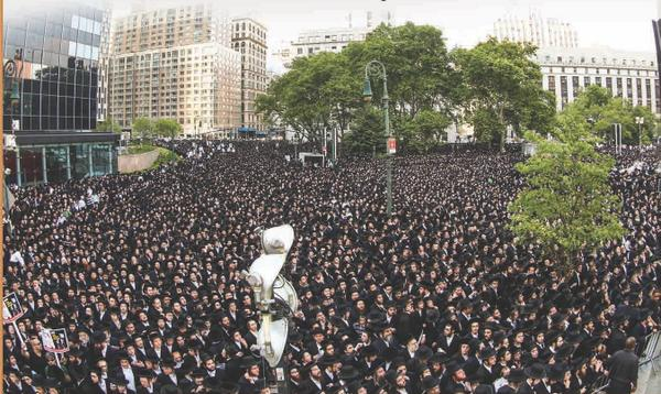 Image result for thousand of JEWS against zionism