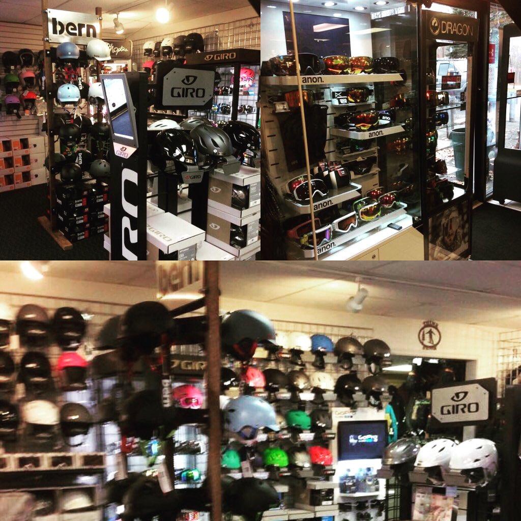 Alpina Ski Shop On Twitter Got Helmets GogglesNeed A GoPro - Alpina ski shop