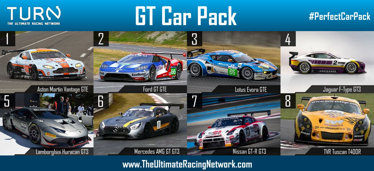 Ideal Car Packs for Forza 6