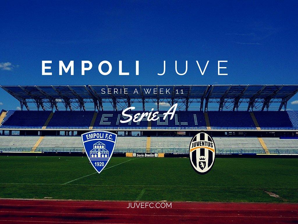 Empoli-Juventus Rojadirecta Diretta Streaming ultime notizie formazioni orario inizio partita Serie A.