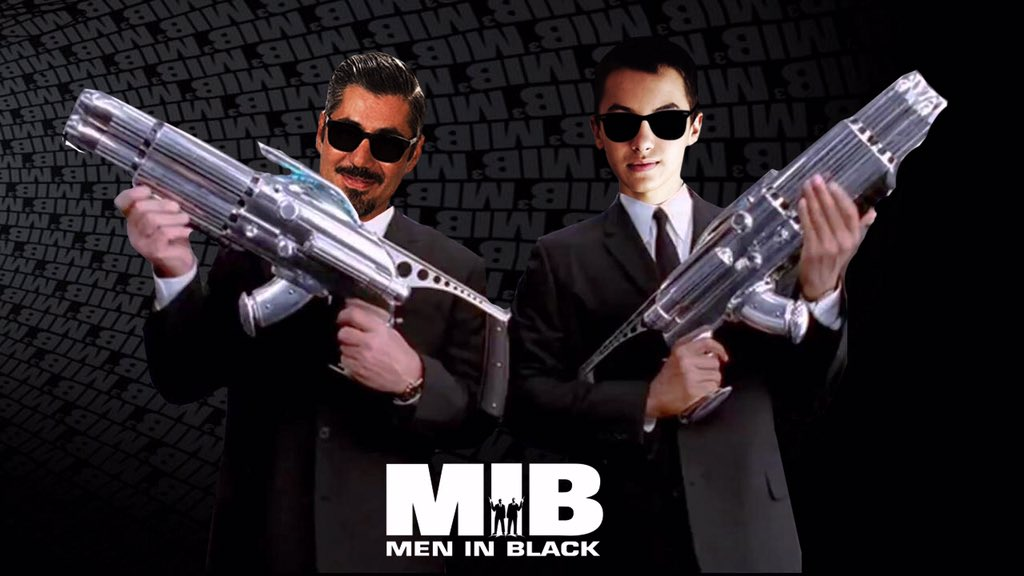 @haydenbyerly and @TheDannyNucci - always my favourite edits to make with these two #meninblack @mamabyerly