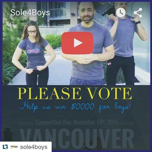 Help semi-finalists @sole4boys win $10,000 to bring running programs to boys who suffer fr… https://t.co/WzkNEYXfsS https://t.co/nU10SHH5gJ