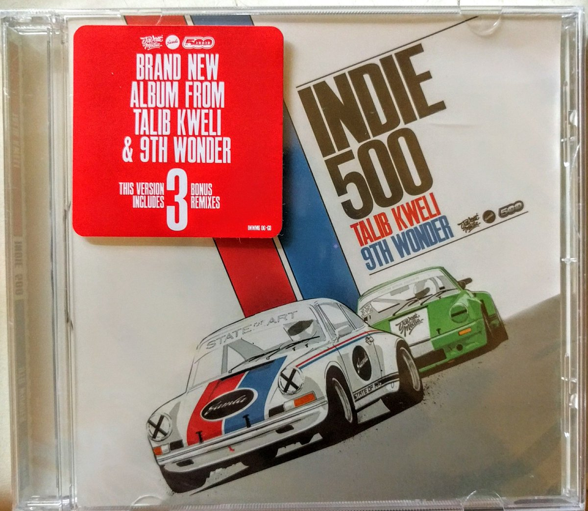 Retweet for a chance to win the #INDIE500 CD in the picture!  Contest ends MIDNIGHT, Monday Nov. 9th, so RT TODAY! https://t.co/hJxBwm3mbe
