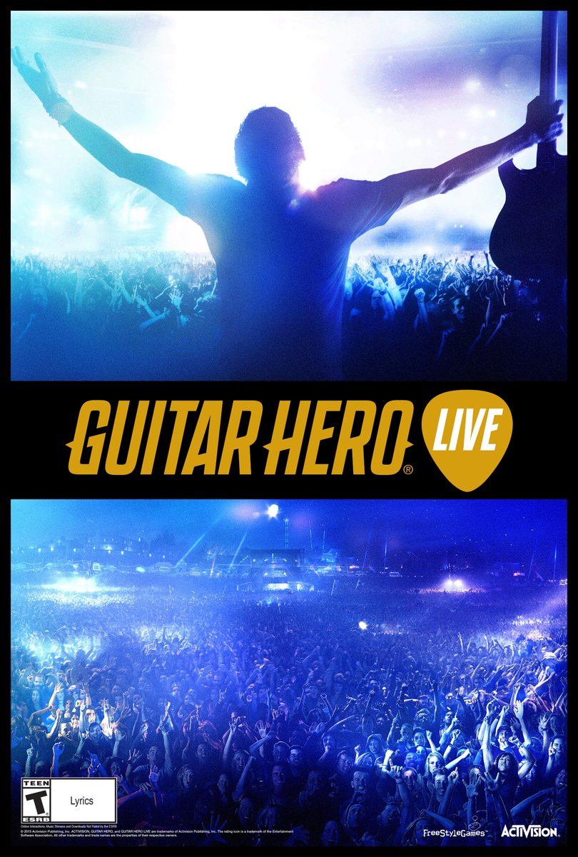 Enter now to win a GUITAR HERO LIVE bundle for the console of your choice! https://t.co/kBDkIzPo1j https://t.co/67VEKePKHq