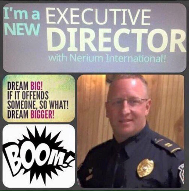 Yep COPS sell Nerium too & he drives a Lexus that he earned also!! #Nerium https://t.co/c2ab02R9pn https://t.co/9C3zdugtwV