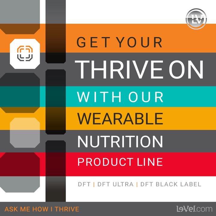 #FlexFriday #Thrive #wearable #nutrition #getYourFlexOn #thriveWithme #DFT http://tinavestal.Le-Vel.com pic.twitter.com/TkZawF9ovu