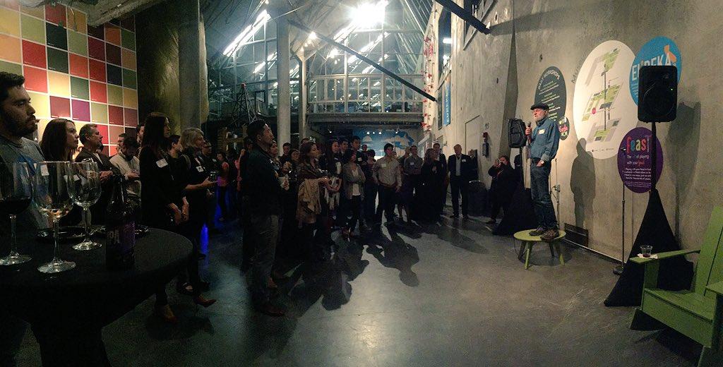 Last night's #UCSD Design Lab event @jnd1er