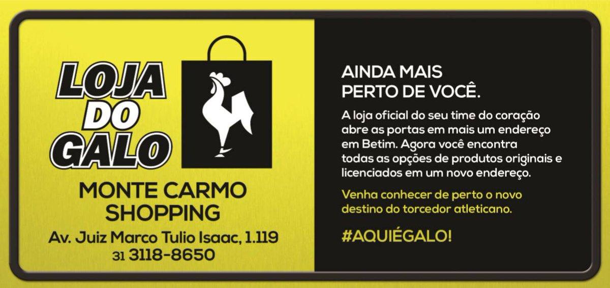 0210d50071 Inauguração  loja do  galo no monte carmo shopping! sábado