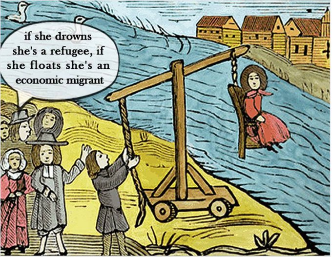 RT @Kon__K: Turnbull Government policy towards people seeking #asylum summed up in one cartoon. #refugees