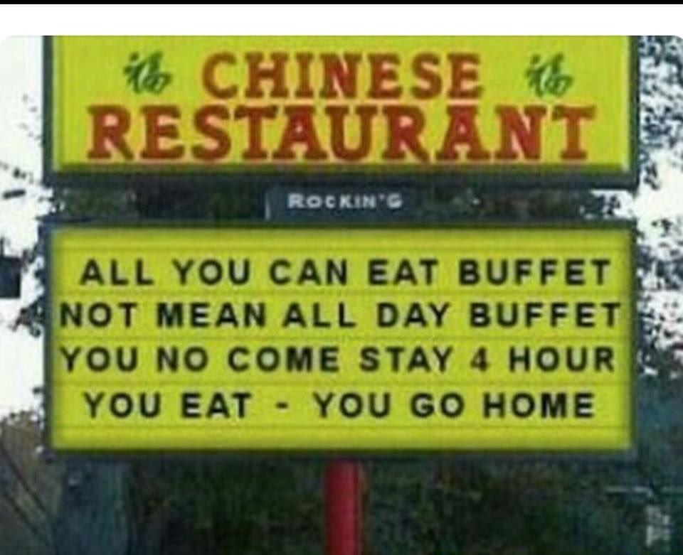 Just eat all you want. https://t.co/ktNpnomltd