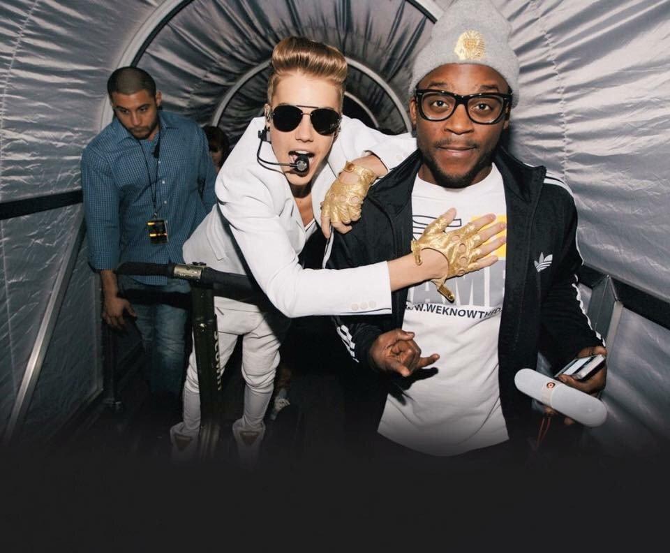 Tonight we've got @justinbieber DJ-@DJTayJames