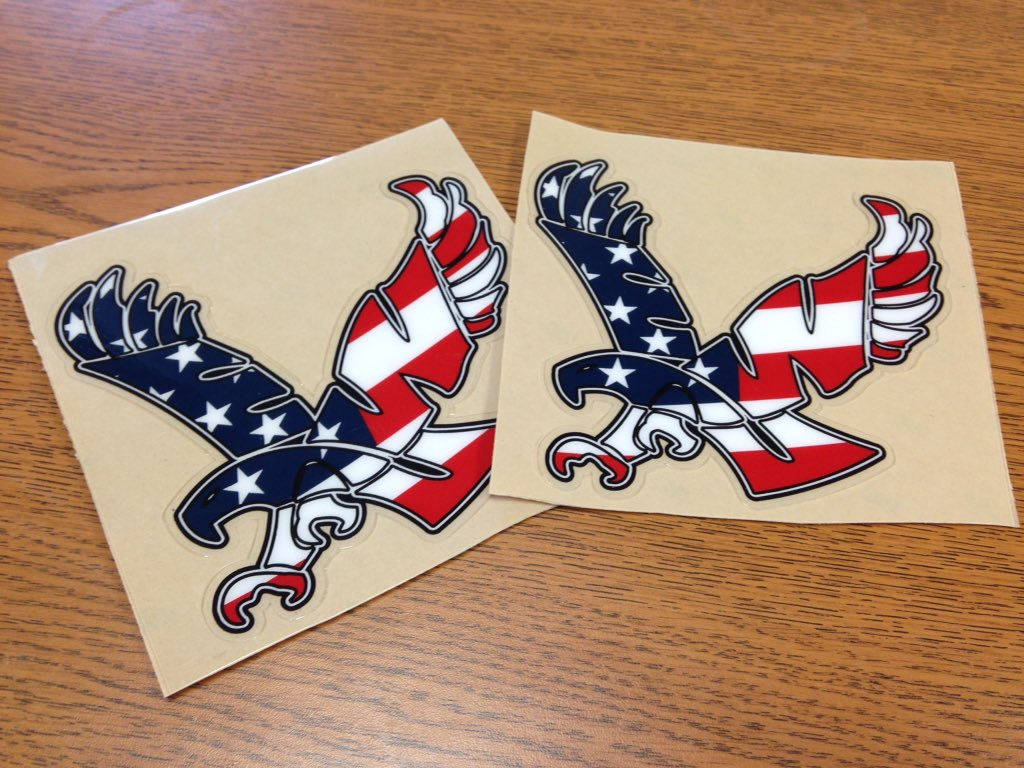 It's Military Appreciation Day tomorrow & we have 2 stickers to give away. RETWEET for your chance to win. #GoEags https://t.co/eAzLtKjqpC
