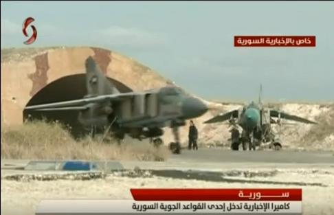 القوات الجويه السوريه .....دورها في الحرب القائمه  CTLL4G0U8AAUWG8