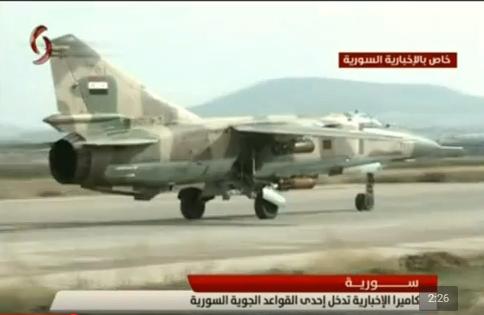 القوات الجويه السوريه .....دورها في الحرب القائمه  CTLL4G9UwAAOFpq