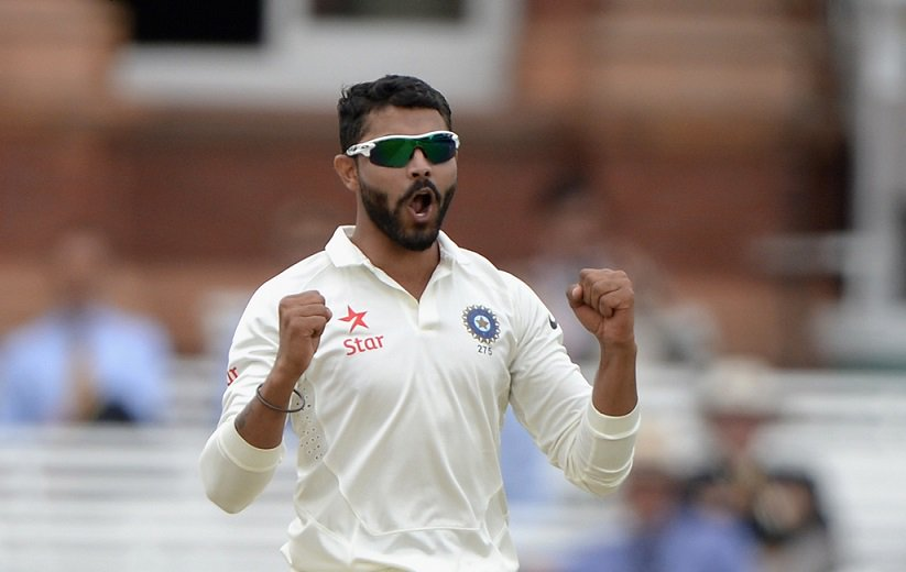 #SirJaddu magic  That was Ravindra Jadeja's 50th wicket in Tests.  #INDvSA<br>http://pic.twitter.com/Vz8ydIFDGp
