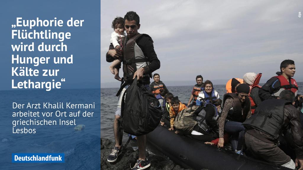 Arzt Khalil Kermani: Die griechische Regierung hilft wenig auf #Lesbos #fluechtlinge https://t.co/rDVo0b7Sw5