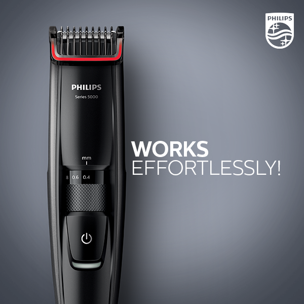 philips men india on twitter the philips trimmer 5000 series is the best thing to happen to. Black Bedroom Furniture Sets. Home Design Ideas
