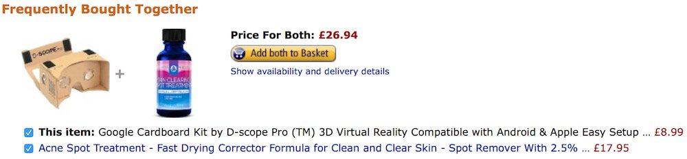 Rethinking my life choice to buy a #googlecardboard headset. https://t.co/9Wi3nvt0Bd